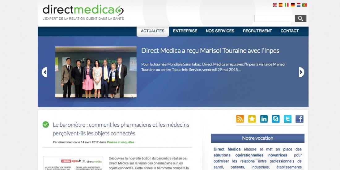 Webhelp devient actionnaire majoritaire de Direct Medica