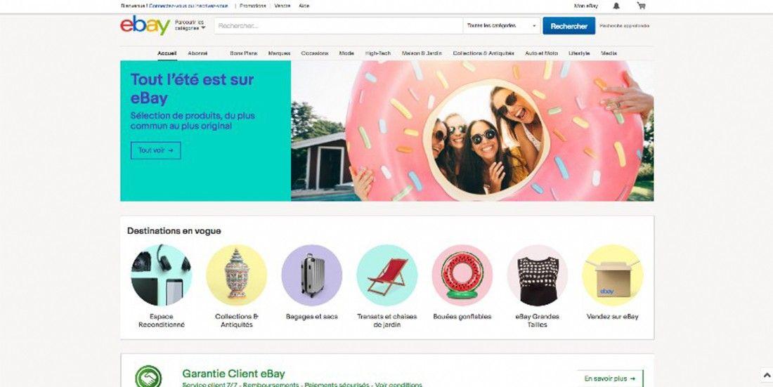 Ebay offre une nouvelle expérience shopping avec le lancement d'un bot