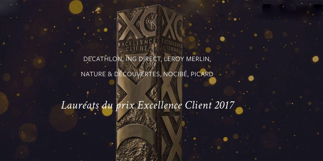 Le prix de l'Excellence client consacre 6 enseignes