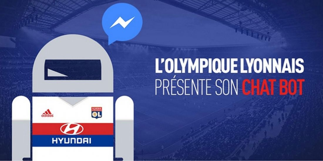 L'Olympique Lyonnais lance son chatbot
