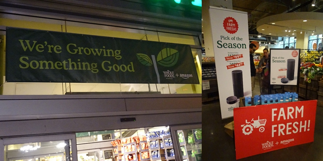 [Tribune] Whole Foods+Amazon: des valeurs et de la valeur