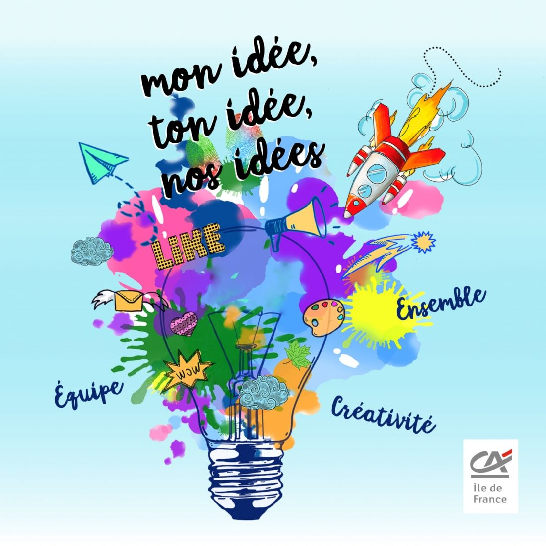 Cr dit agricole lance une plateforme de crowdsourcing avec for Idee start up 2016