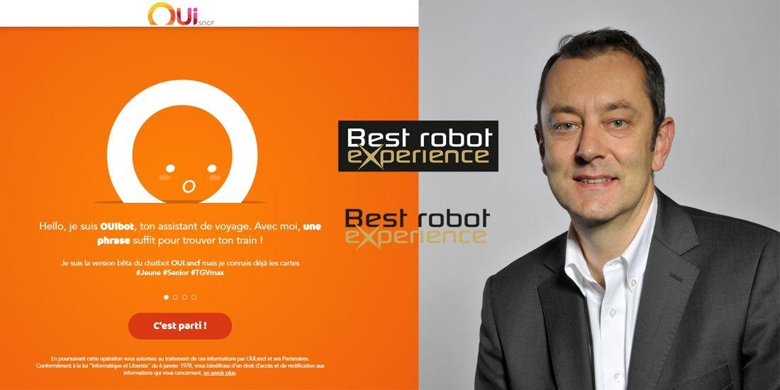 Le chatbot de oui.sncf devient le premier gagnant de Best Robot Experience