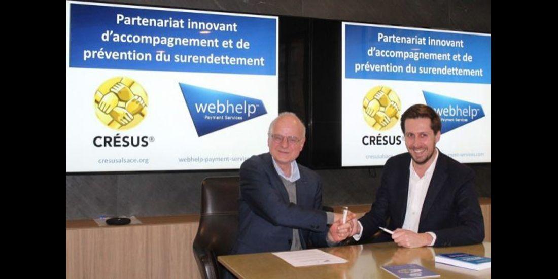 Cresus et Webhelp Payment Services s'engagent dans la prévention du surendettement