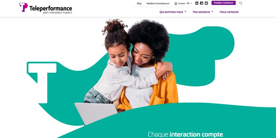 Teleperformance change son identité visuelle