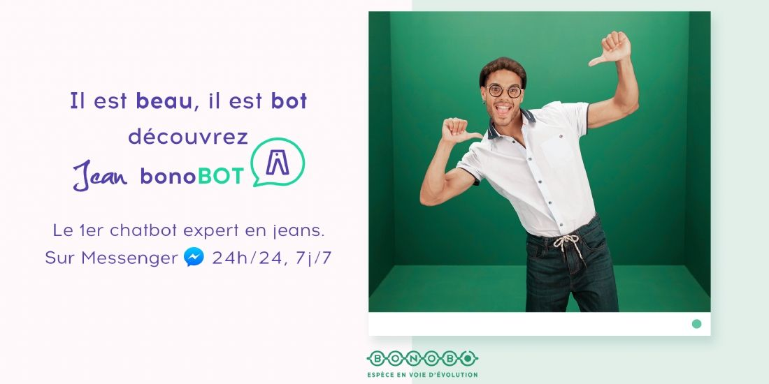 La marque Bonobo lance un chatbot serviciel