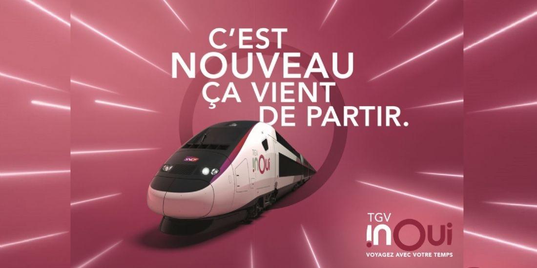 La SNCF dévoile un plan média ambitieux pour sa nouvelle marque TGV InOui