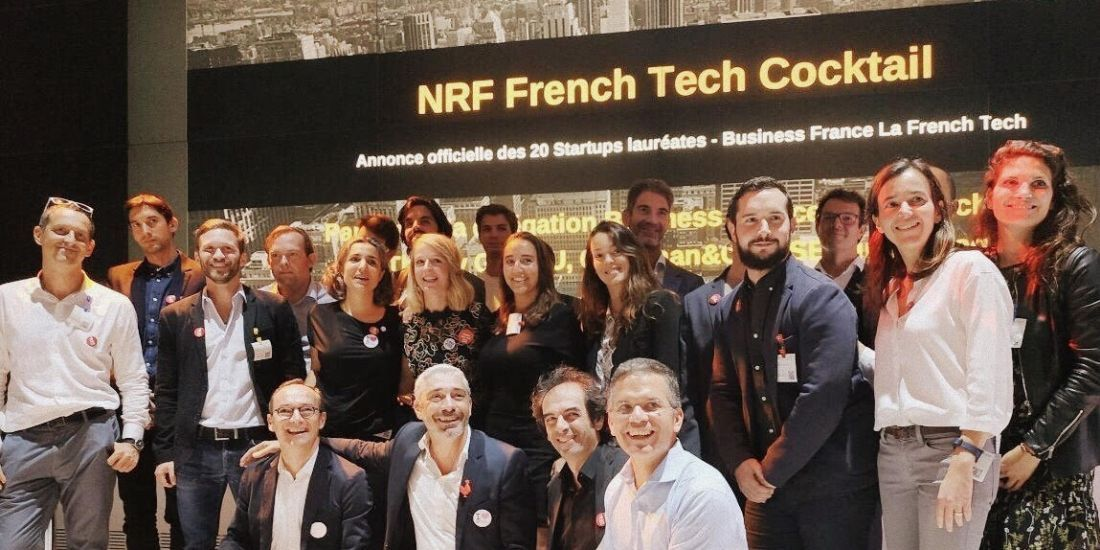 #NRF2019 Business France sélectionne 20 start-up de la French Tech