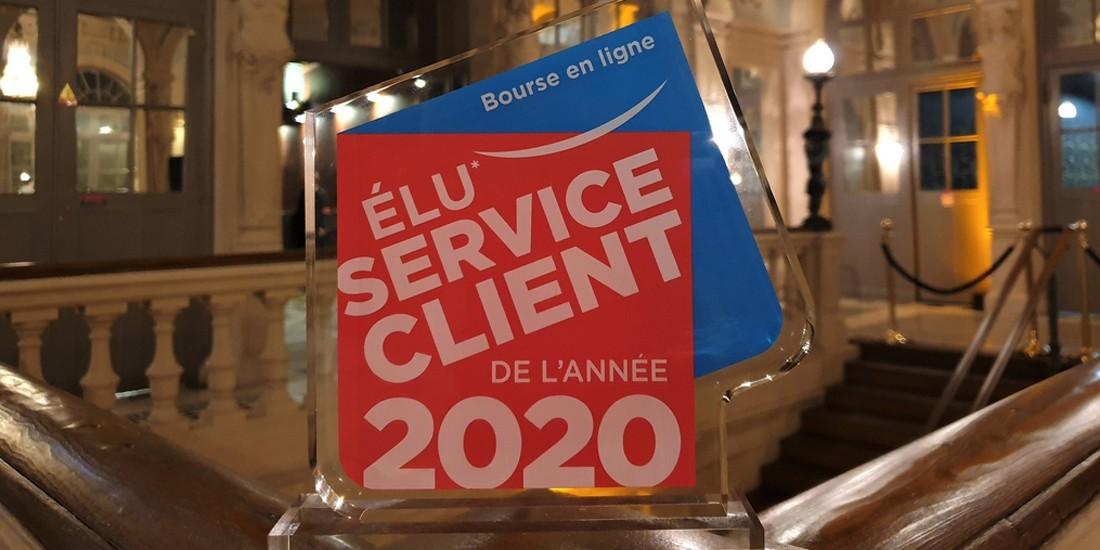 Élu service client de l'année 2020: les lauréats
