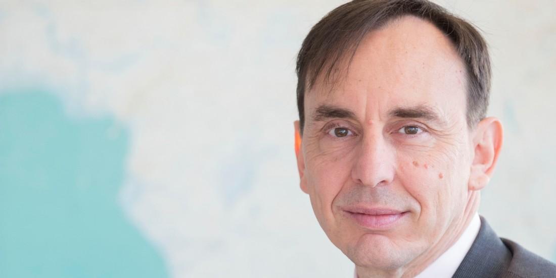 Frank Legré est directeur général de BlueLink