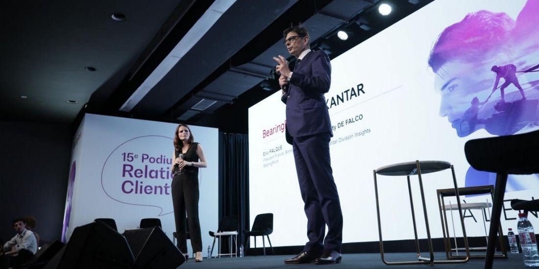 Eric Falque, président de Bearing Point, lance la 15e édition du Podium de la Relation Client.
