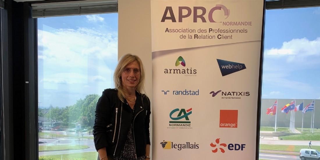 'Notre mission, dédramatiser les métiers de la relation client', Isabelle Bréville (APRC)