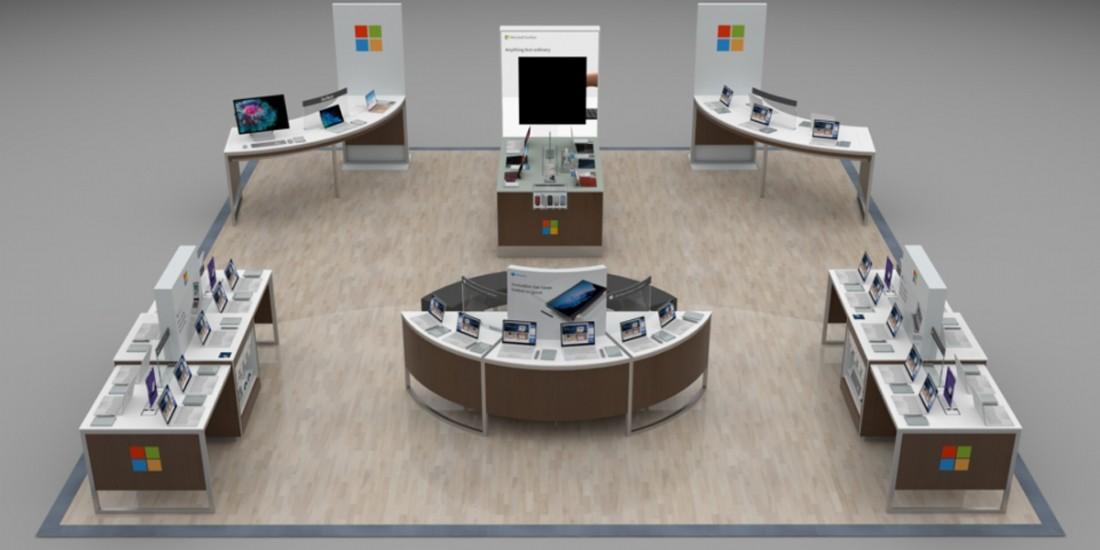 Microsoft et Fnac Darty 'apple-storisent' leurs espaces de vente