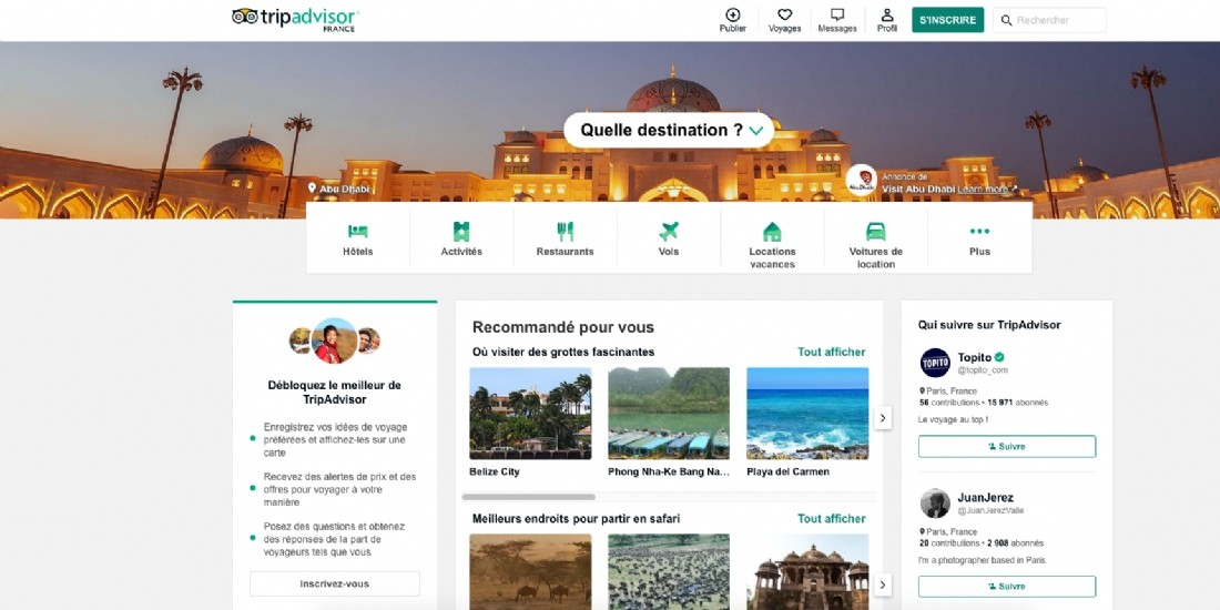TripAdvisor a bloqué 1 million de faux avis avant publication