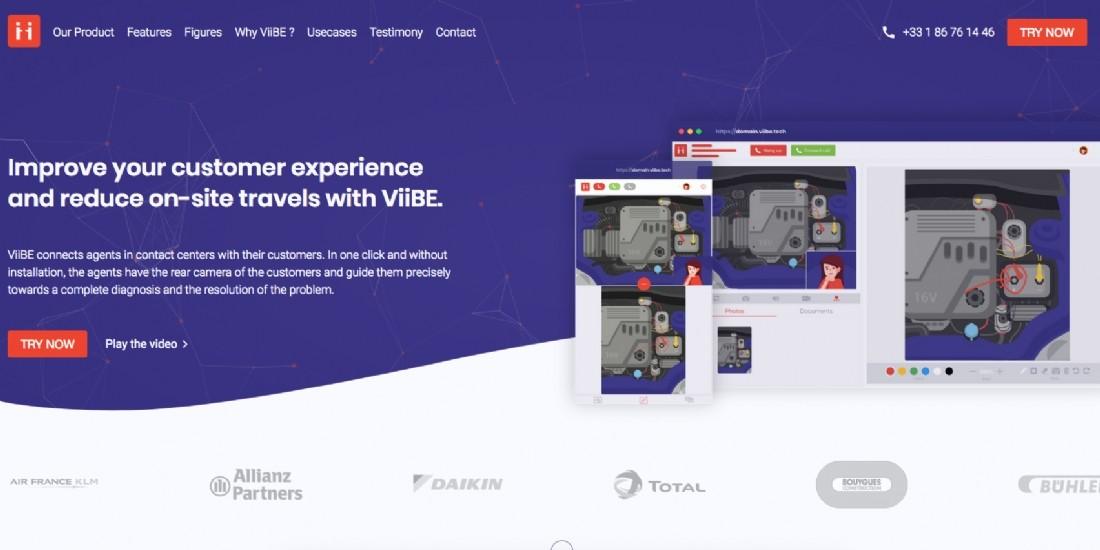 L'application vidéo ViiBE, conçue pour les centres de contacts, lève 1,2 million d'euros