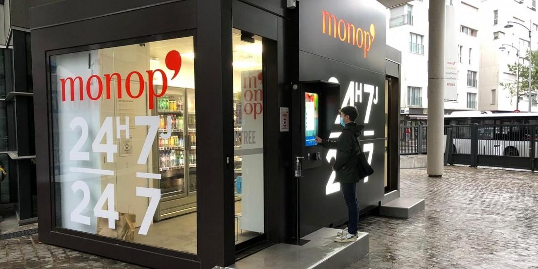 [Reportage] Monop' présente 'Black Box', son magasin autonome
