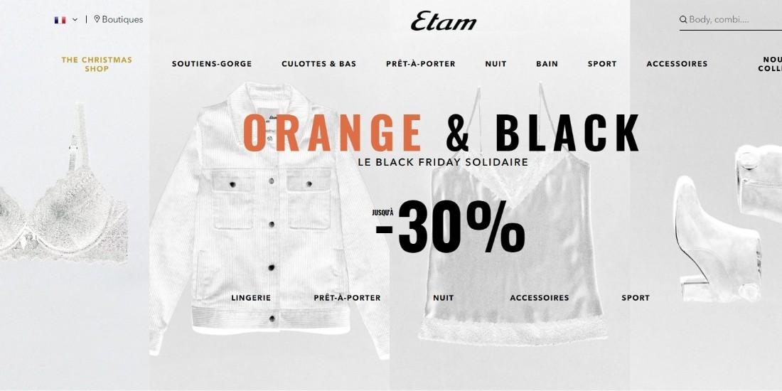 Comment Etam a amélioré son expérience client lors du Black Friday