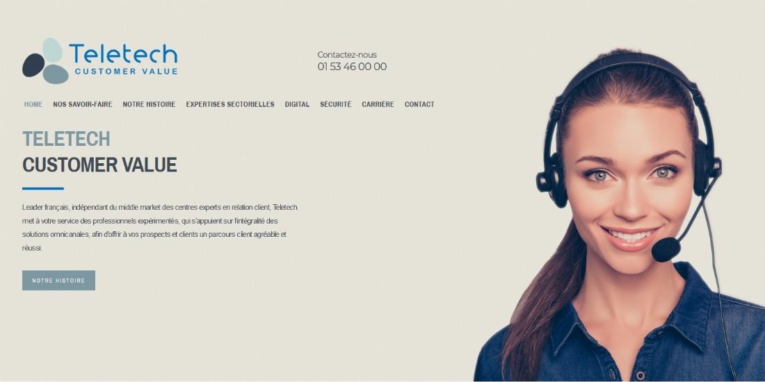 Teletech s'offre une nouvelle identité visuelle et un site web repensé