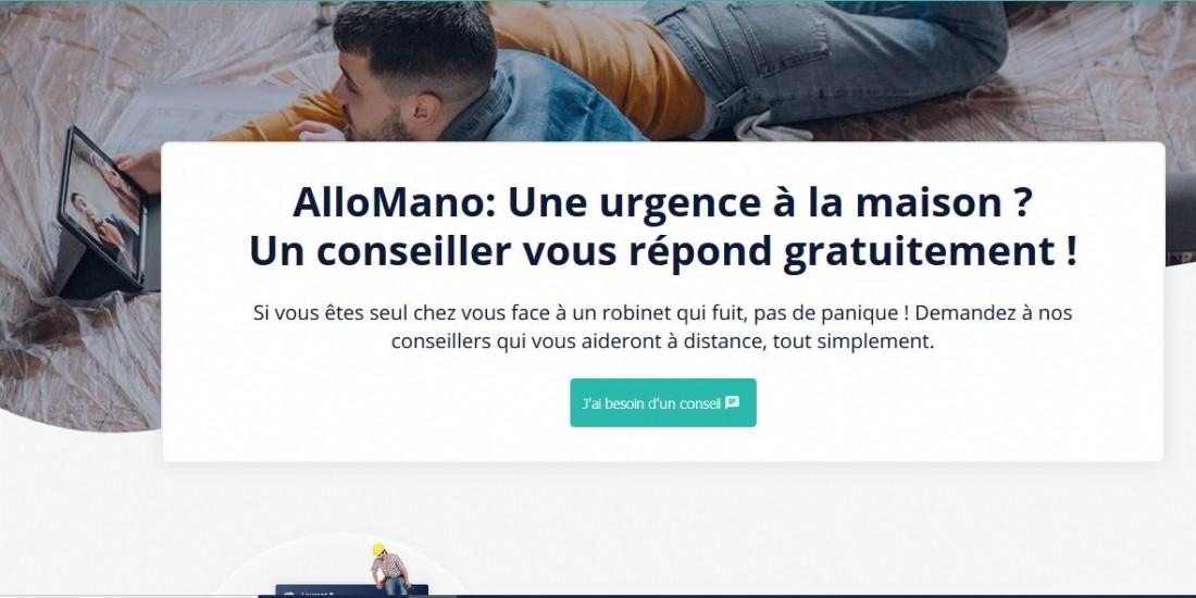 ManoMano lance le service gratuit AlloMano pour répondre au dépannage d'urgence