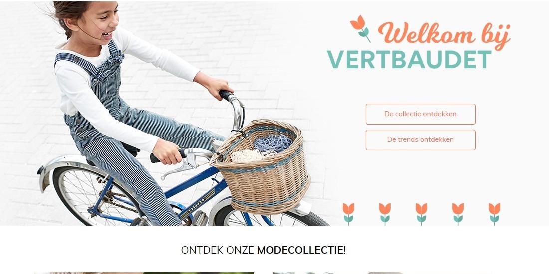 Vertbaudet lance son site e-commerce aux Pays-Bas
