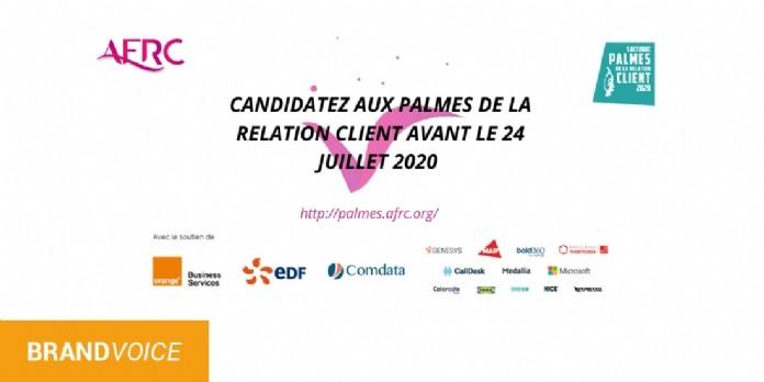 Candidatez pour la 13ème édition des Palmes de la Relation Client de l'AFRC