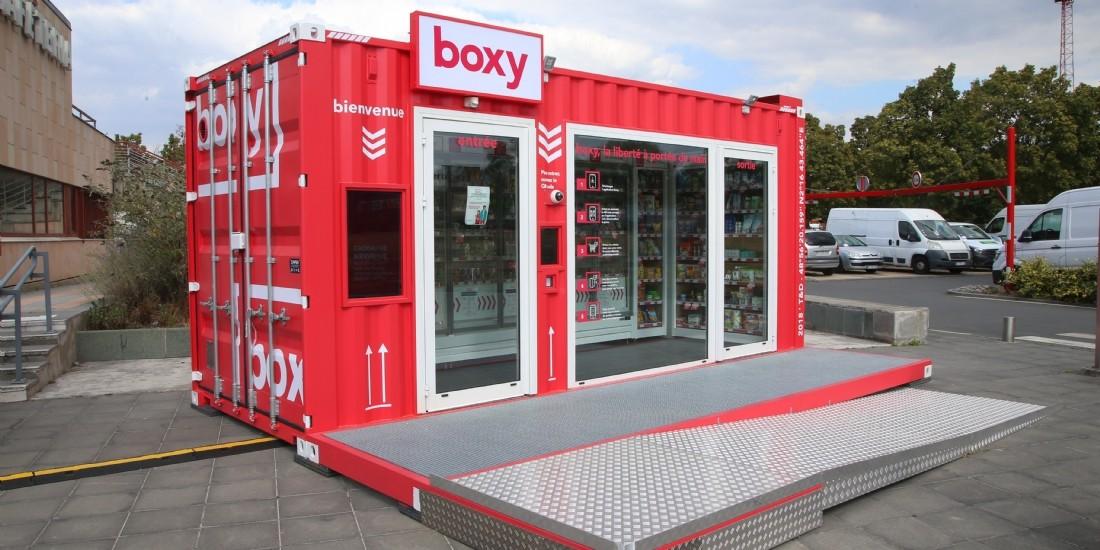 Storelift inaugure deux magasins autonomes de proximité