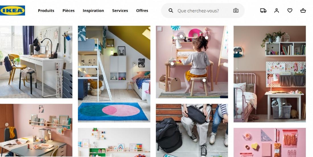 L'e-commerce atteint les 35% du CA d'Ikea France
