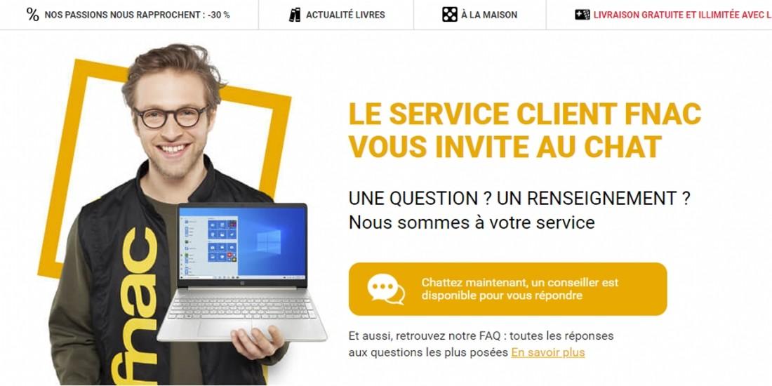 Fnac Darty développe un service de visio et chat pour conseiller les clients en ligne