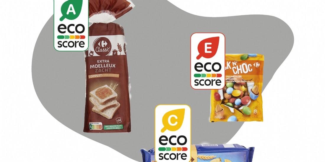 Carrefour expérimente l'Eco-score sur son site e-commerce