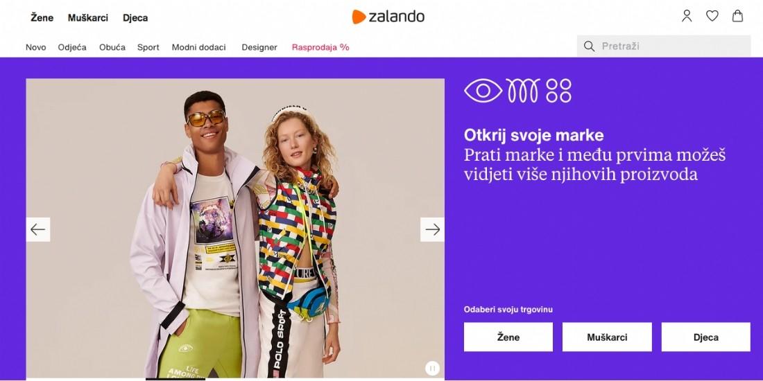 Zalando se déploie sur trois nouveaux marchés