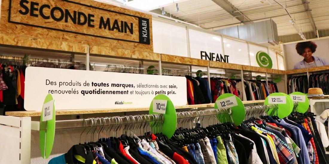 Kiabi digitalise la collecte de vêtements