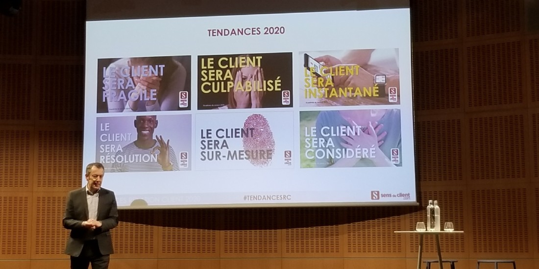 Les 6 tendances 2020 de la relation client, selon Thierry Spencer